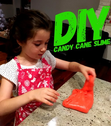 DIY 1 - Slime Candy Cane