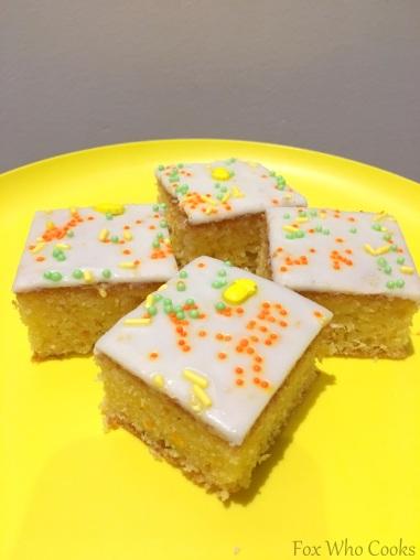 Orange Cake Slice 1