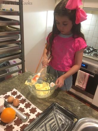Orange Cake Slice